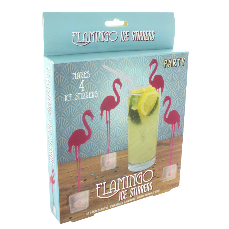 Flamingo Ice Stirrers