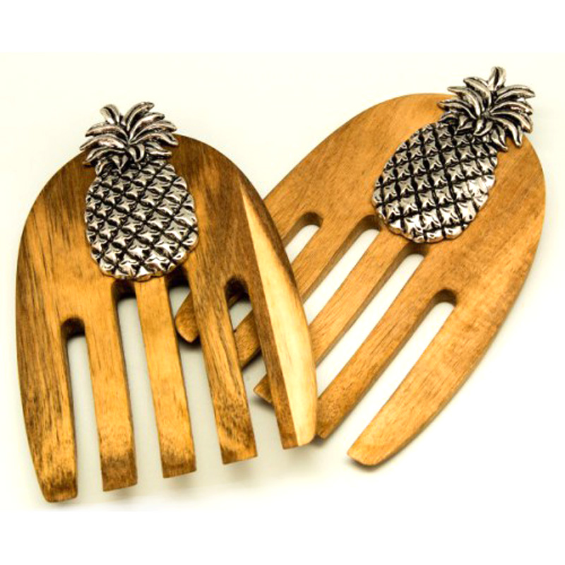 Pineapple Salad Server Set