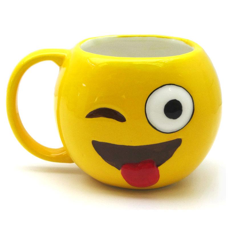 Emoji Mug - Wink