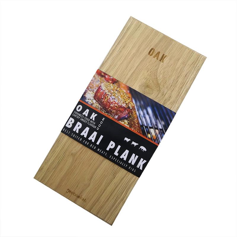 Oak Braai Planks