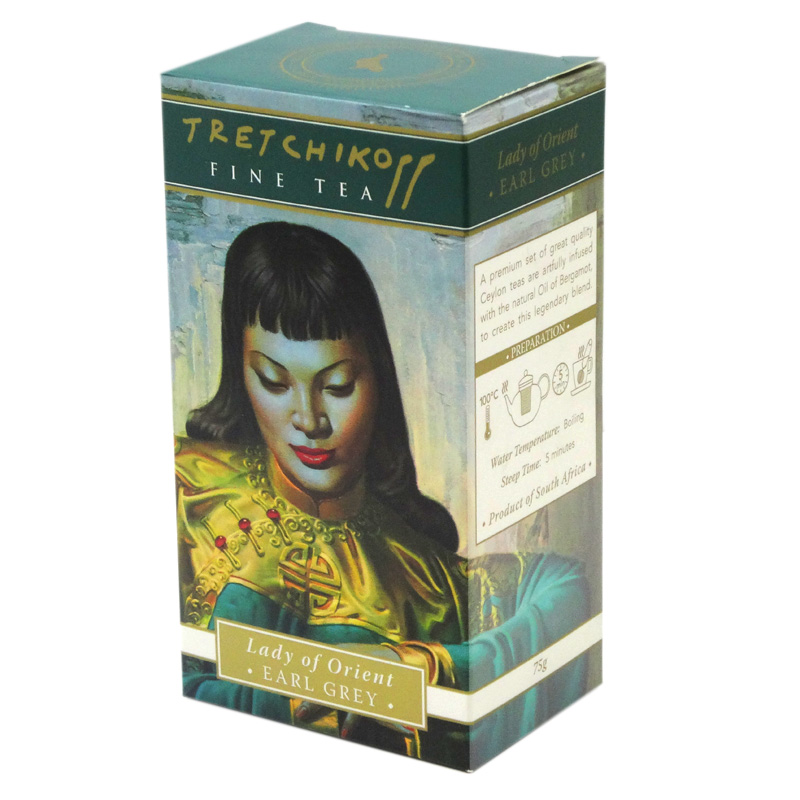 Tretchikoff Lady from Orient Earl Grey Tea